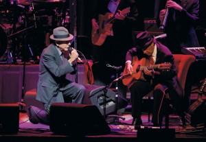 Leonard Cohen na turné
