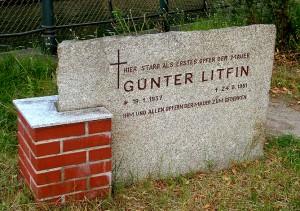 "Hrob Güntera Liftina poblíž místa ""vraždy"", autor: Michal Prouza"