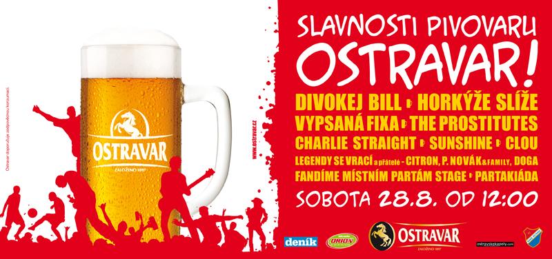 Slavnosti pivovaru Ostravar
