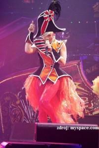 Pink na koncertě (Zdroj: www.myspace.com)