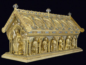 Relikviář sv. Maura (Zdroj: http://www.svatymaur.cz/cs/uvodem.html)