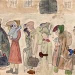 Helga Hošková-Weissová, Příjezd do Terezína