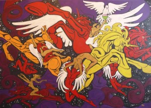 Obrazy inspirované hudbou, zdroj: http://www.kiseljov.net