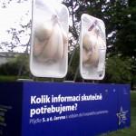 Mražená kuřata lákají k volbám