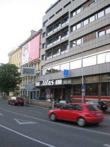 Centrum filmové přehlídky (autor: Pavlína Paulátová)