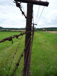 Zbytky železné opony u obce Čížov, autor: Michal Prouza
