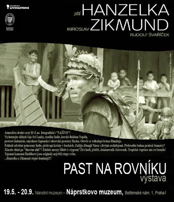 Plakát k výstavě (zdroj: CK Livingstone)