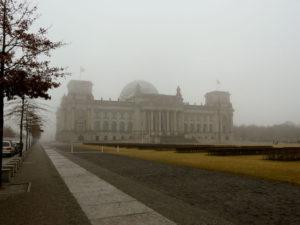 Budova Reichstagu - únor '09, autor: Michal Prouza