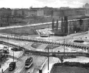 Potsdamer Platz po stavbě Berlínské zdi, zdroj: www.dailysoft.com