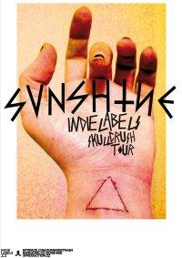 Plakát k aktuální tour, zdroj: www.myspace.com/sunshinetrash