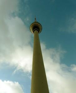 Klenot NDR - televizní věž na Alexandrplatzu v Berlíně, autor: Michal Prouza