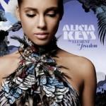 Zpoloviny naplněný element svobody Alicie Keys