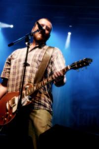 Vašek Bláha z kapely Divokej Bill na Trnkobraní '09, autor: Jakub Jedelský
