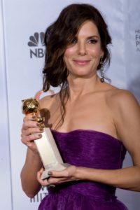 Vítězka Sandra Bullock, zdroj: www.goldenglobes.org