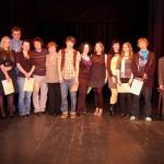 Studenti recitovali v divadle Čtyřlístek