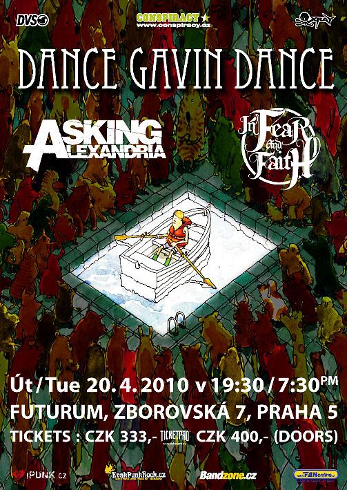 Dance Gavin Dance, zdroj: Futurum