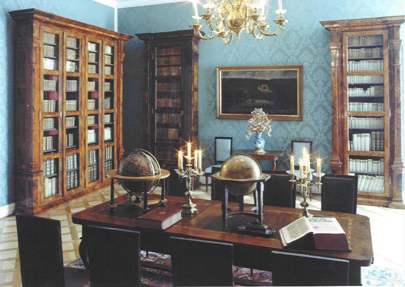 Knihovna, zdroj: www.zamekboskovice.cz