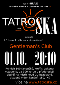 Tatroska - křest