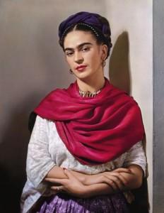 Fotografie Fridy Kahlo (Zdroj: http://www.bankaustria-kunstforum.at/)
