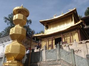 Kláštery ve vesnici Wu Tai Shan