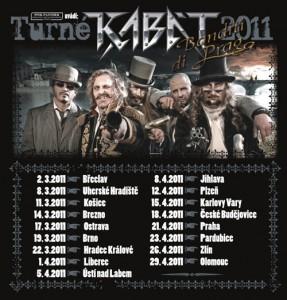 Kabát - turné 2011