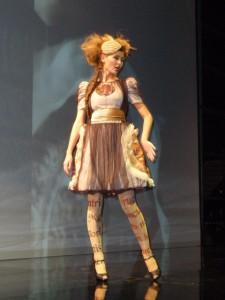 Model Louisy Dvorak (Foto: Markéta Tesařová)