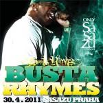 Americká ikona hip-hopu Busta Rhymes přijíždí do Prahy