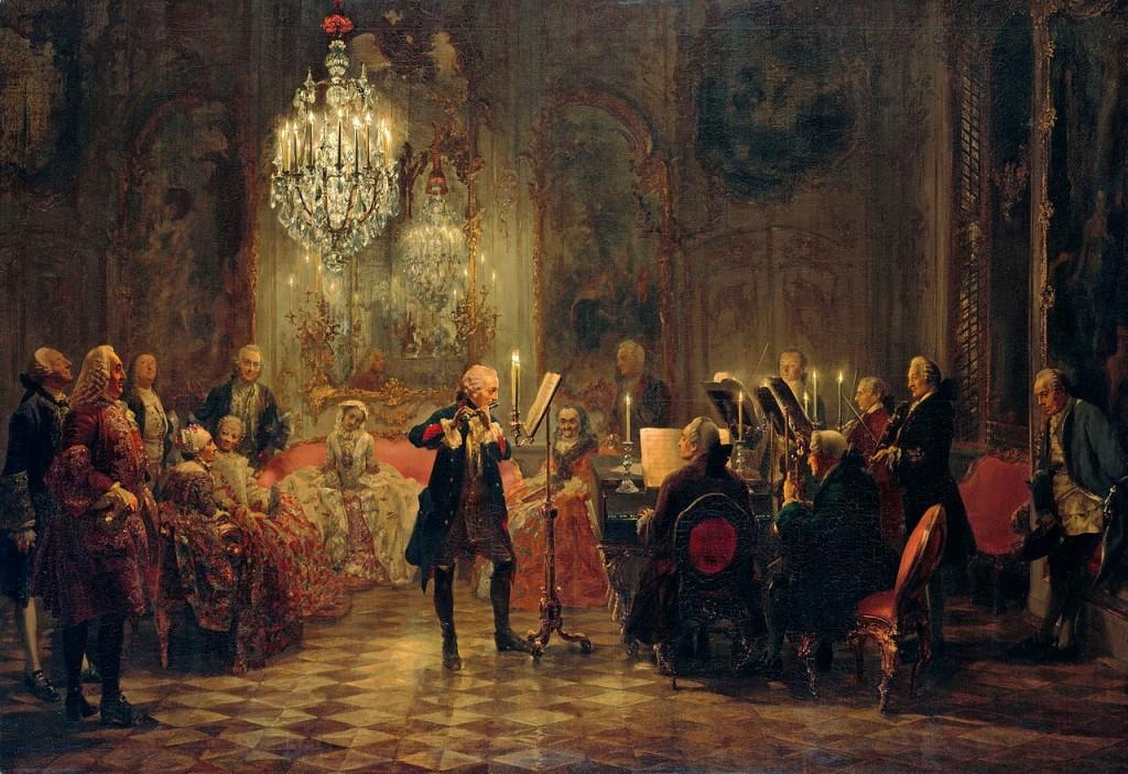 Fridrich II. – koncert