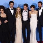 Argo, Bídníci a stále vyrovnavý souboj hereček na Zlatých glóbech