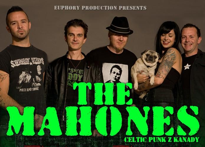 The Mahones – flyer