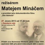 Potkejte se v Národní knihovně s režisérem Matejem Mináčem