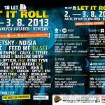 Festival Let It Roll bude hostit přes 110 DJs a producentů KorVŠ