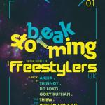 Časový lineup páteční BreakStorming s The Freestylers