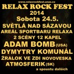 Relax Rock Fest 2014 má kompletní program