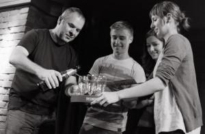 Milan Herman, Michal Horák, Petra Göbelová, Dominika Orlíkov
