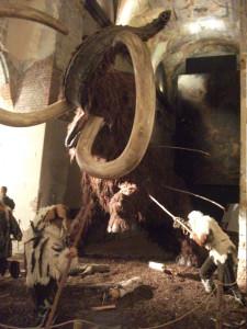 Popichování mamuta, zdroj domácí archiv
