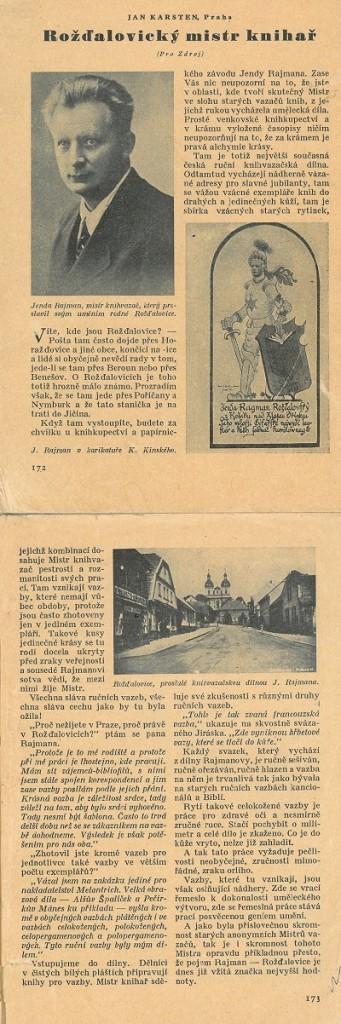 úryvek z časopisu ZDROJ, zdroj obrázku:www.rajman.cz