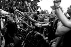 fans na Non Servium, foto: Eva Peterková