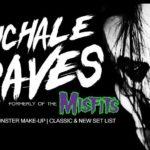 Michale Graves, bývalý zpěvák kapely Misfits, vystoupí v Ostravě!