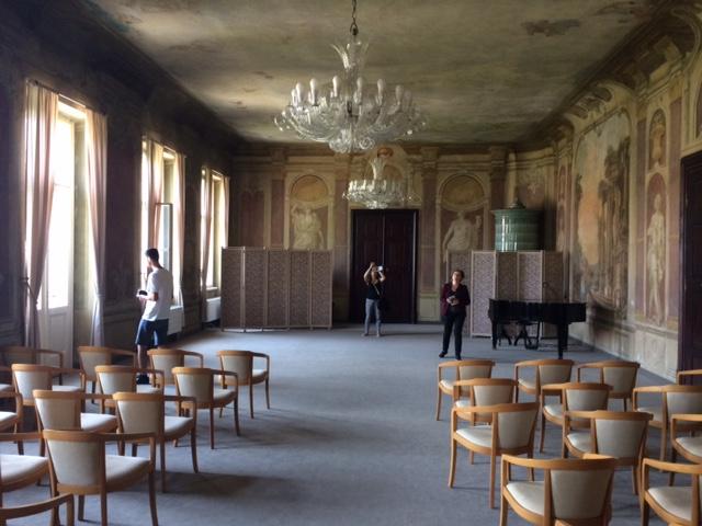 Obřadní síň v Libeňském zámku