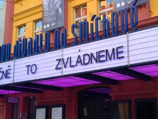1 Markýza Švandova divadla na jaře 2020 foto archiv Švandova divadla