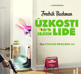 obal Úzkosti a jejich lidé, zdroj:www.audioteka.cz