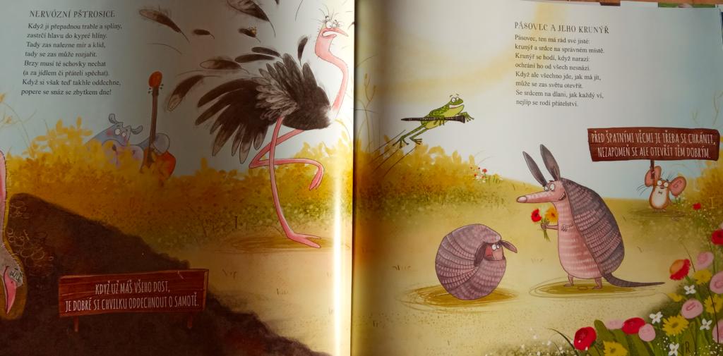 ukázka z knihy(8.a9.báseň), zdroj vlastní foto