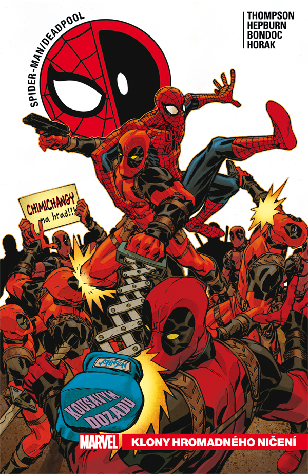 Spidey a Deadpool
