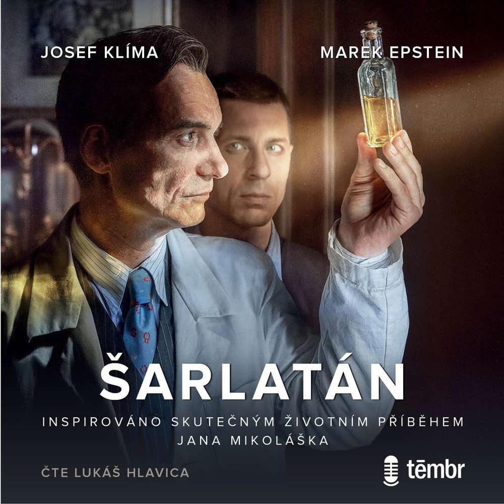 Audiokniha Sarlatan Josef Klima Marek Epstein