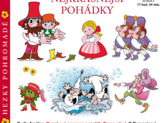 Audiokniha Nejkrasnejsi pohadky hezky pohromade Vaclav Ctvrtek Antonin Jedlicka