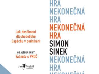 Audiokniha Nekonecna hra Simon Sinek
